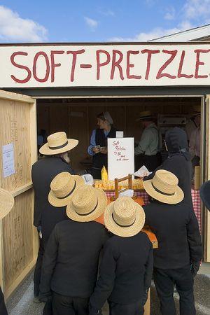 Amish Pretzel Stand