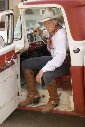 Cowboy, Santa Fe