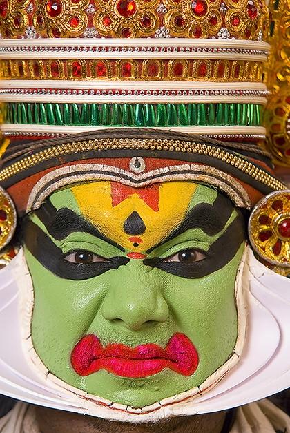 Kathakali Closeup