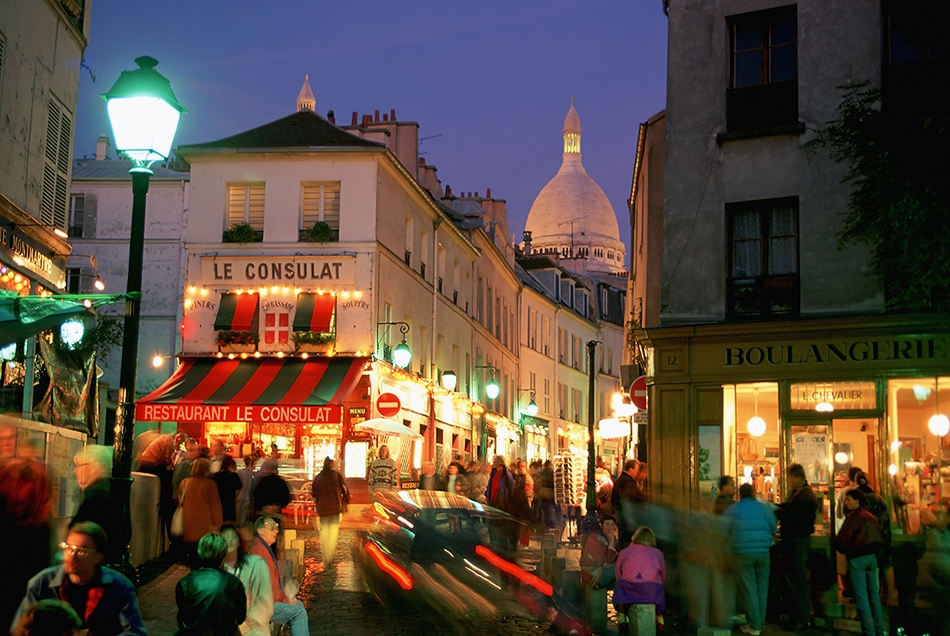 Monmarte. Paris, France.