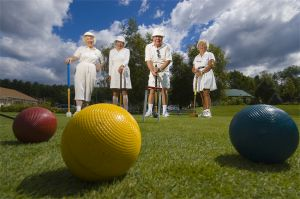 Croquet Club at Lake Winnepausaukee