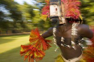 Dogon dancer in Mali