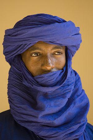 Tuareg man  in Timbuktu