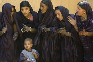 Tuareg women in Timbuktu