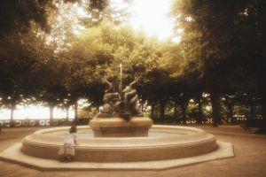 The fountain at Cortona