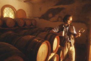Vin santo tasting at Trerose Vineyard