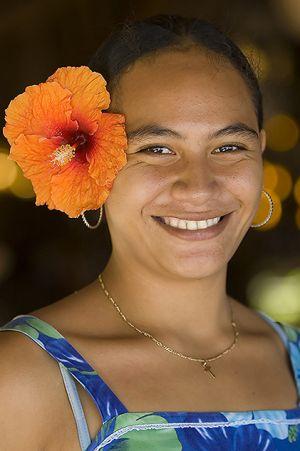 Bora Bora portrait