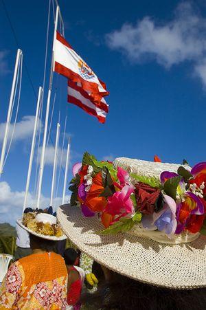 Bastille Day on Bora Bora