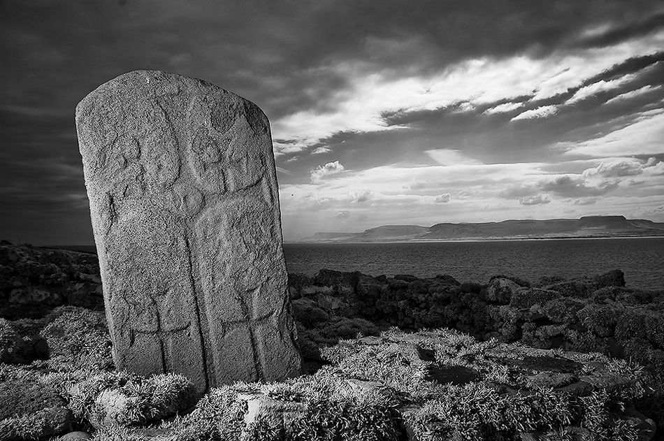 Monks gravestone ireland