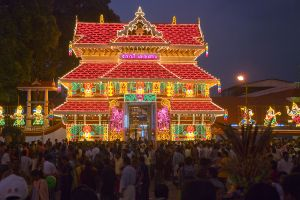 Pooram eve in Thrissur