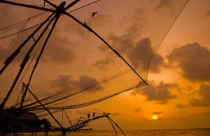 Sunset at Kochi