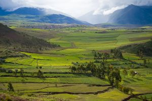 The Inca Valley near Cuzco