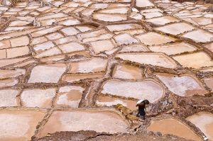Inca salt flats at Maras
