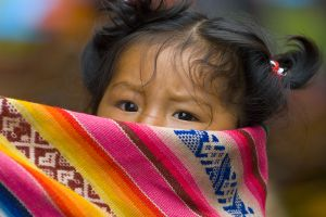 Child at Chincero Market