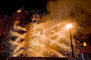 Fireworks in Cuzco
