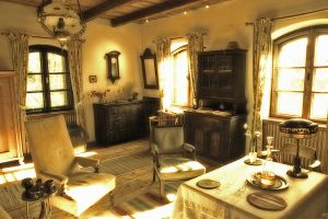 Count Tibor's sitting room